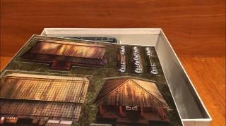 2D terrain on card.