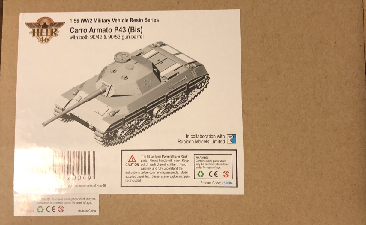 Painting Tutorial: Italian P43 (bis) Heavy Tank [Rubicon Models/Heer46]